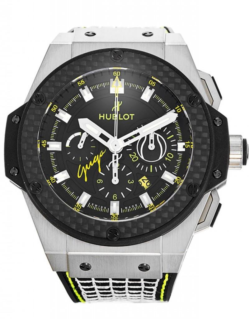 Replica Hublot Big Bang King Power Guga Tennis 48MM Titanium Black Dial 703.NQ.1129.NR.GUG13