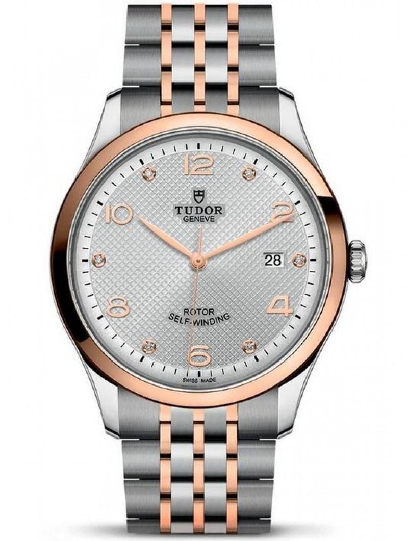 Replica Tudor 1926 Silver Diamond Dial Rose Gold Mens Watch M91651-0002
