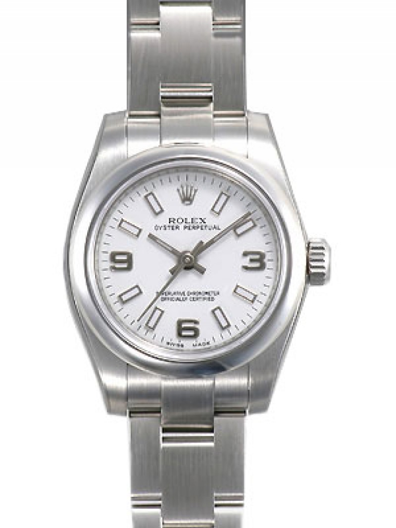 Fake Rolex Oyster Perpetual No Date Ladies Watch 176200WASO