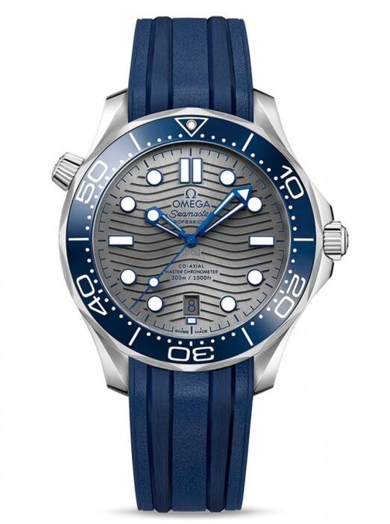Replica Omega Seamaster Diver 300M Co-Axial Master Chronometer 210.32.42.20.06.001
