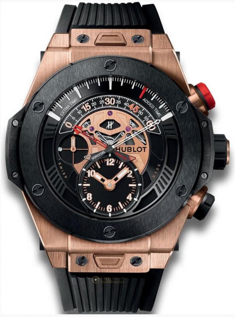 Fake Hublot Big Bang Unico Bi-Retrograde Chrono King Gold Ceramic Watch 413.OM.1128.RX
