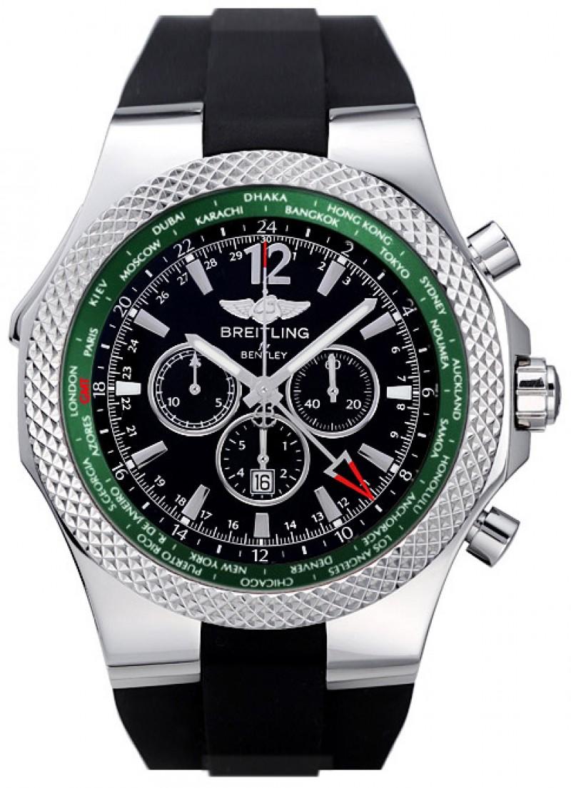 Fake Breitling Bentley GMT Mens Watch A47362S4-B919BKRS