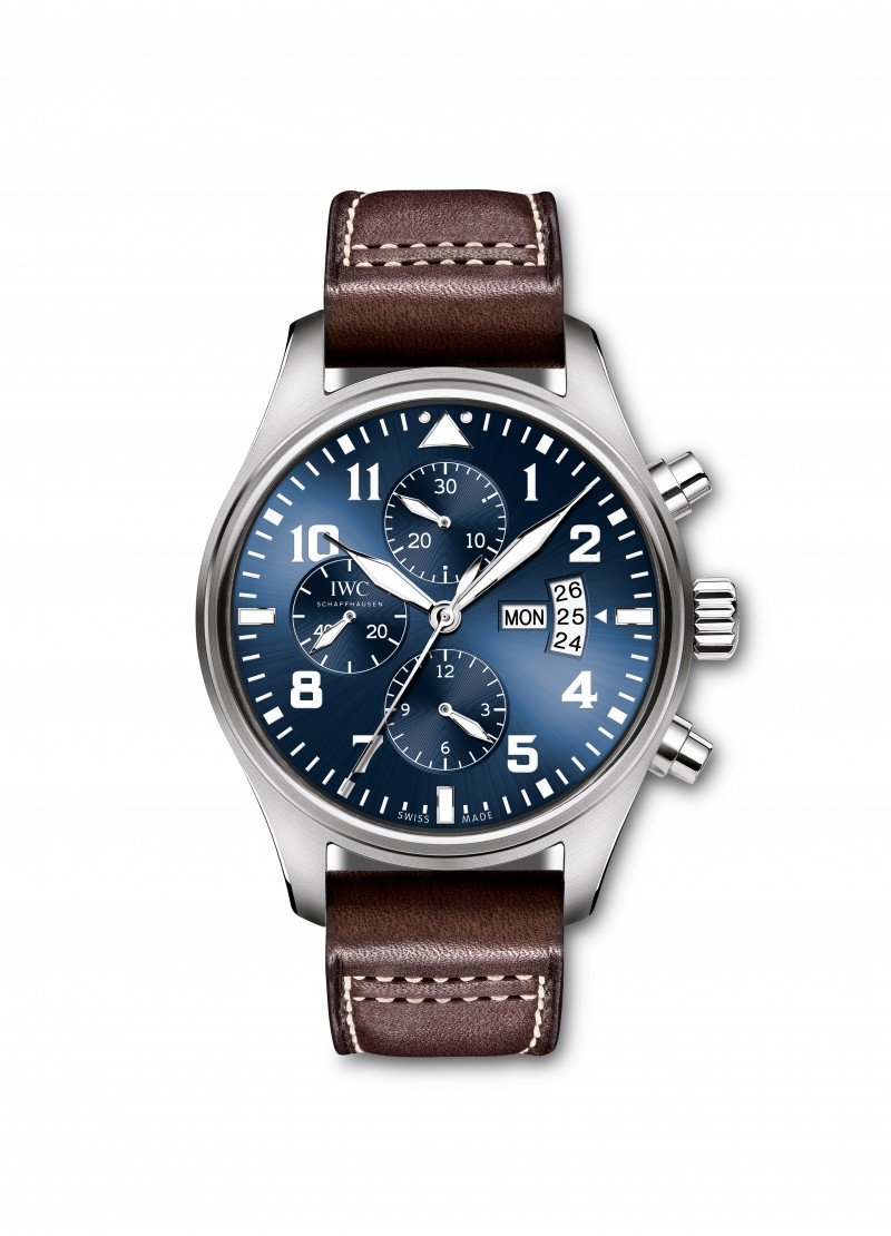 Fake IWC Pilot's Le Petit Prince Blue Dial Mens Watch IW377706