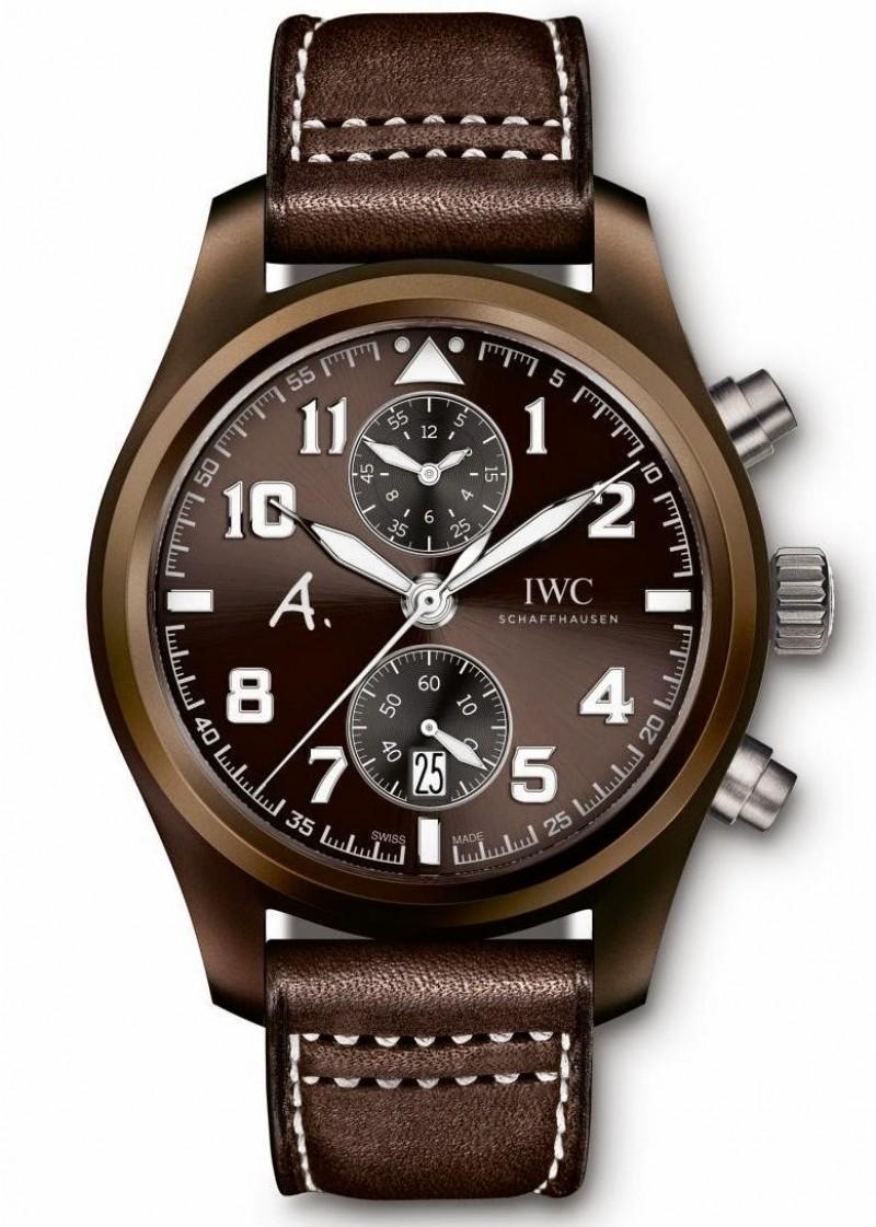 Fake IWC Pilot's Watch Chronograph Edition The Last Flight IW388004