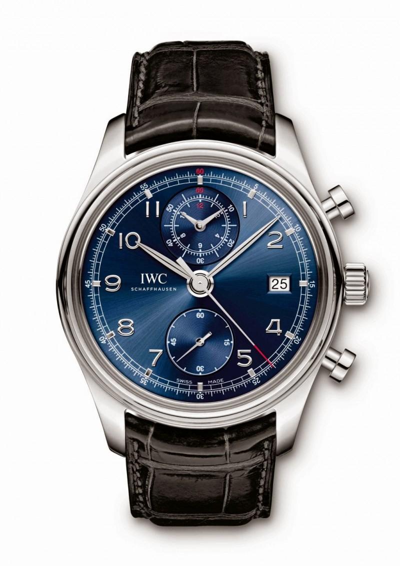 Fake IWC Portuguese Chronograph Classic Edition Laureus Sport for Good Foundation IW390406