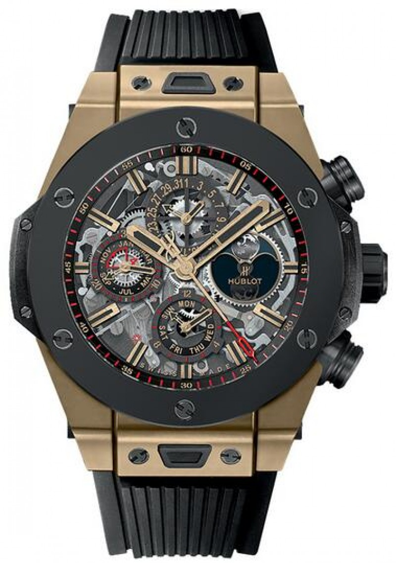 Fake Hublot Big Bang Alarm Repeater Magic Gold Ceramic 45mm 403.MC.0138.RX