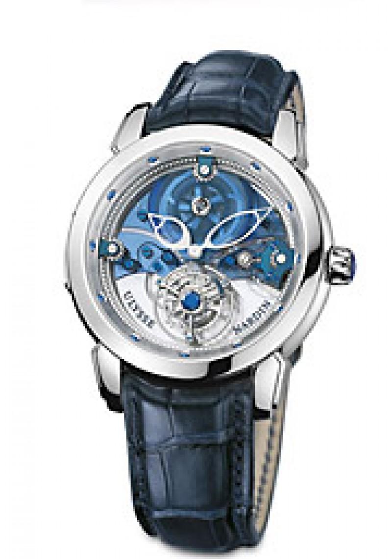 Fake Ulysse Nardin Royal Blue Tourbillon Limited Edition Mens Watch 799-81