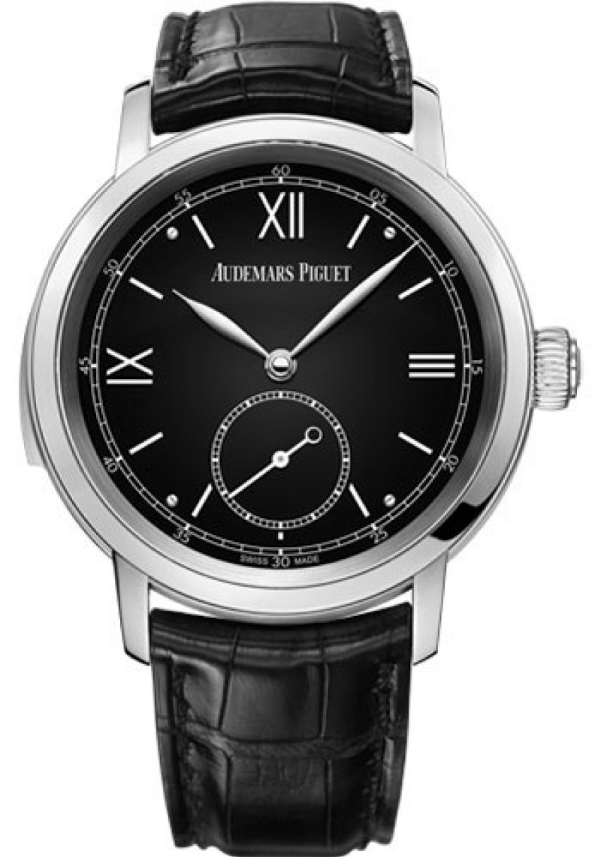 Replica Audemars Piguet Jules Audemars Minute Repeater Platinum Mens Watch 26590PT.OO.D002CR.01