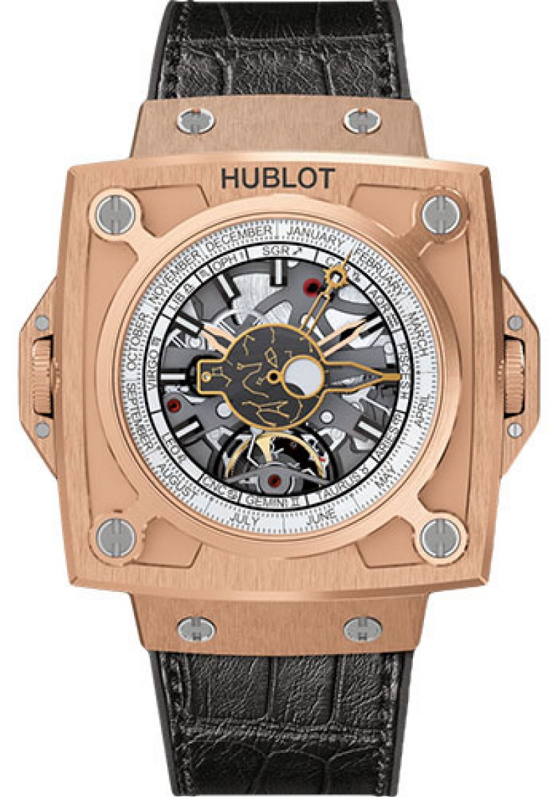 Replica Hublot MP-08 Antikythera Sunmoon King Gold 908.OX.1010.GR
