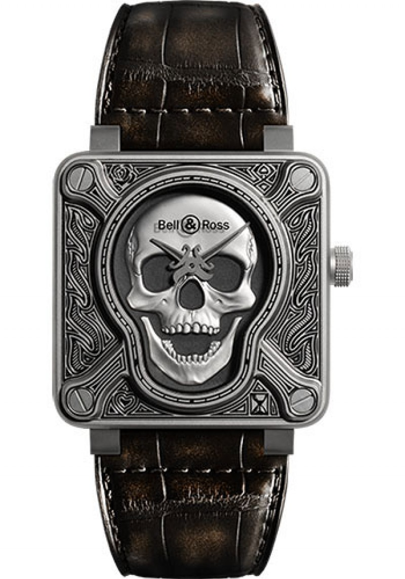 Replica Bell & Ross BR 01-92 Automatic Burning Skull