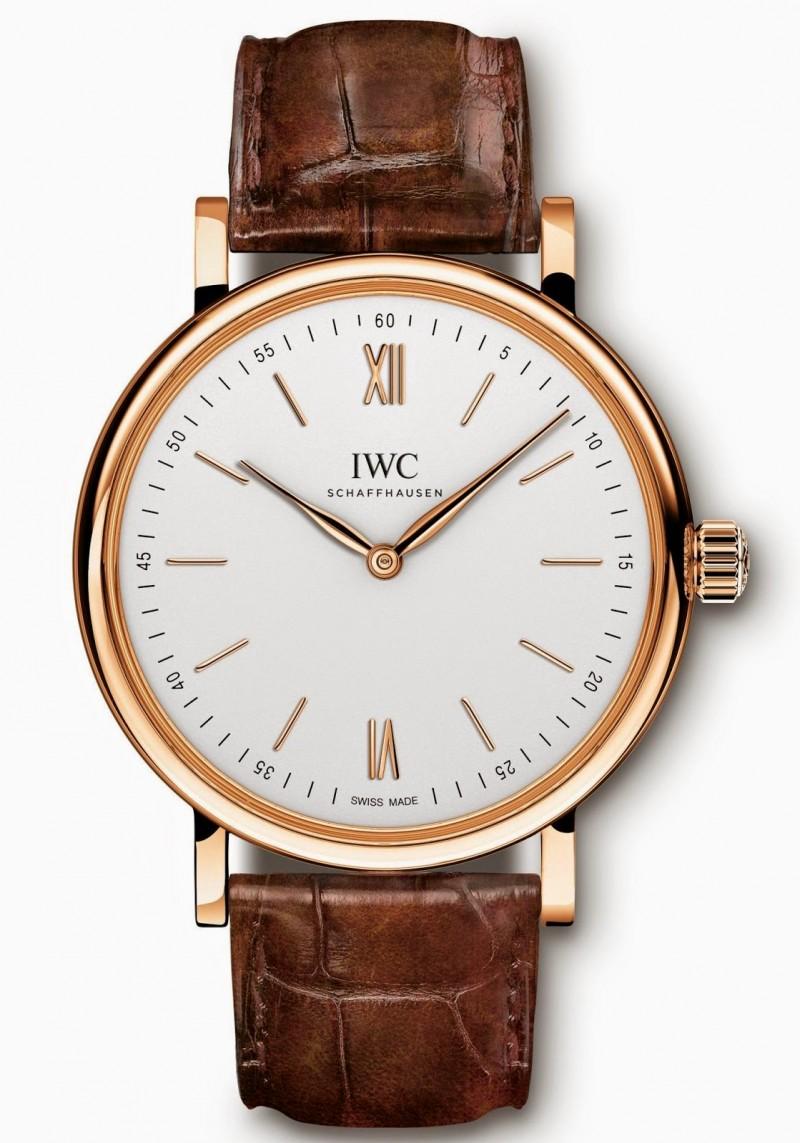 Fake IWC?Portofino Hand-Wound Pure Classic Rose Gold IW511101