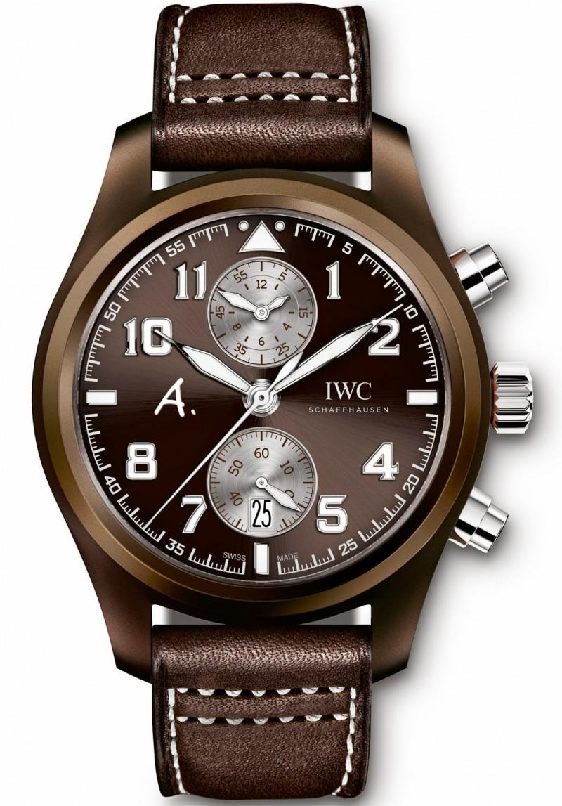 Fake IWC Pilot's Watch Chronograph Edition The Last Flight IW388005