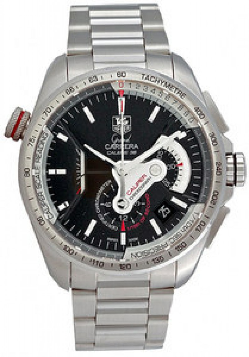Fake TAG Heuer Grand Carrera Automatic Chronograph Mens Watch CAV5115.BA0902