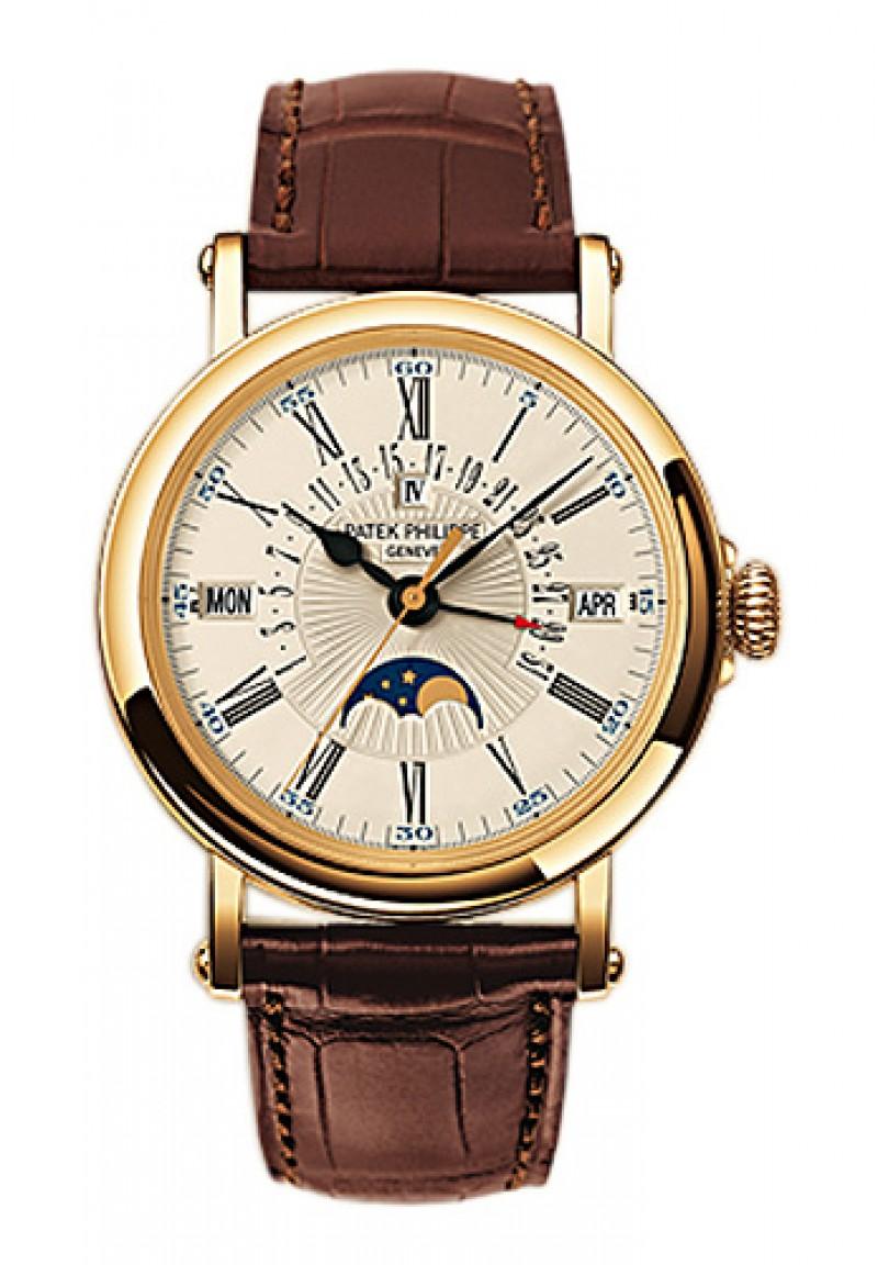 Replica Patek Philippe Perpetual Calendar Mens Watch 5159J