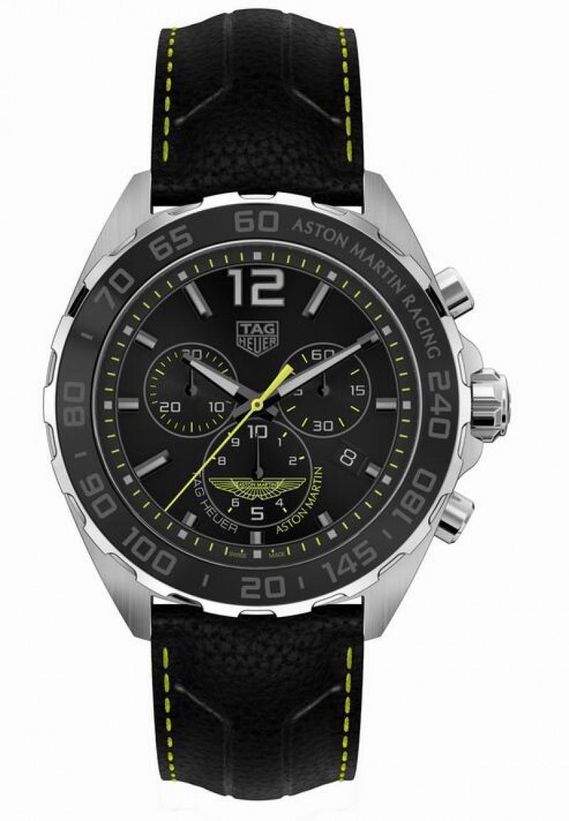 Replica TAG Heuer Formula 1 Chronograph Quartz Aston Martin CAZ101P.FC8245