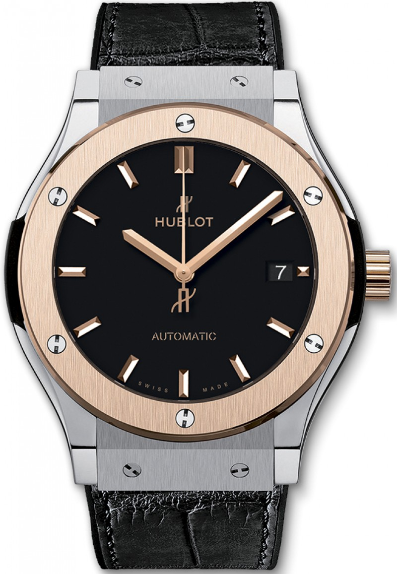 Fake Hublot Classic Fusion 45mm Titanium King Gold 511.NO.1181.LR