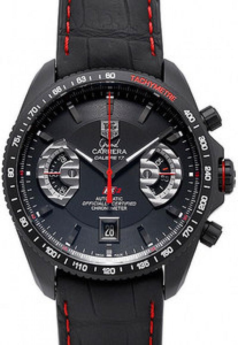 Fake TAG Heuer Grand Carrera Calibre 17RS2 Automatic Chronograph Mens Watch CAV518B.FC6237