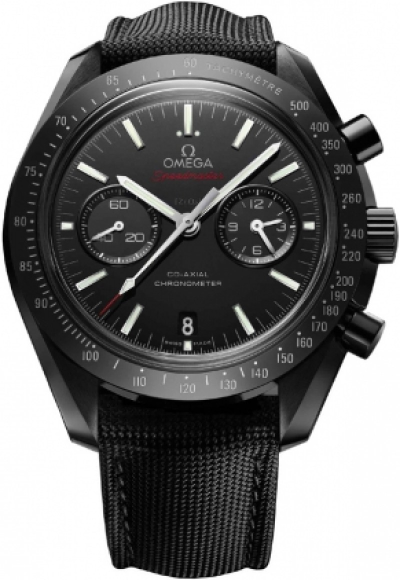 Fake Omega Speedmaster Dark Side of the Moon Mens Ceramic Watch 311.92.44.51.01.003