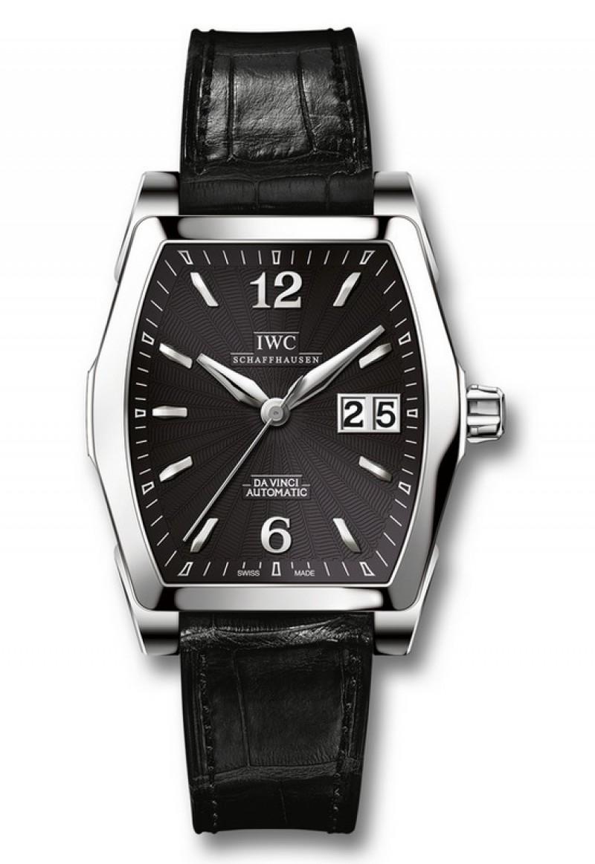 Fake IWC Da Vinci Black Dial Mens Watch IW452312