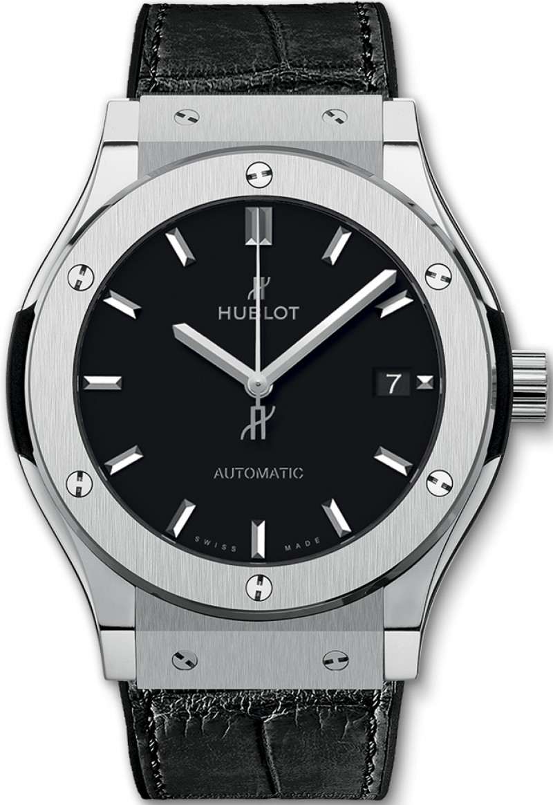 Fake Hublot Classic Fusion Automatic Titanium 45mm Mens Watch 511.NX.1171.LR