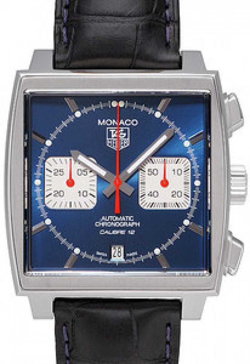 Fake TAG Heuer Monaco Automatic Chronograph Date Mens Watch CAW2111.FC6183