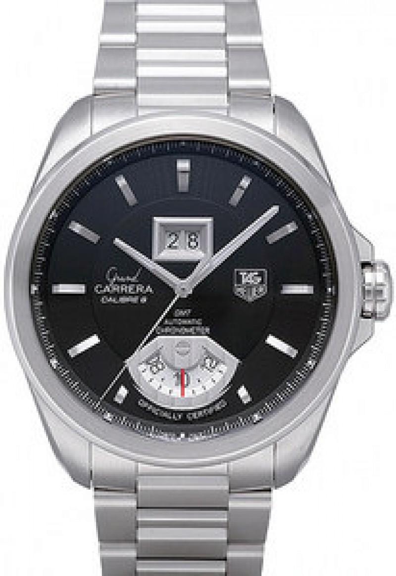 Fake TAG Heuer Grand Carrera Caliber 8 RS Automatic Chronometer Mens Watch WAV5111.BA0901