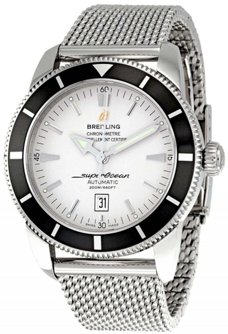 Fake Breitling Superocean Heritage 46 Mens Watch A1732024-G642SS