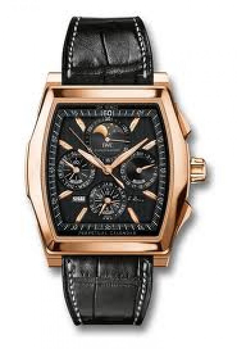 Fake IWC Da Vinci Perpetual Calendar Kurt Klaus Chronograph Mens Watch IW376206