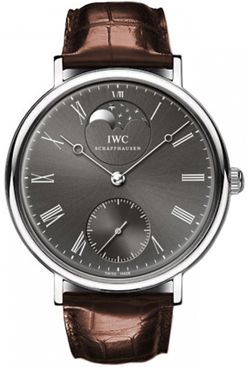 Fake IWC Vintage Portofino Grey Dial Mens Watch IW544804