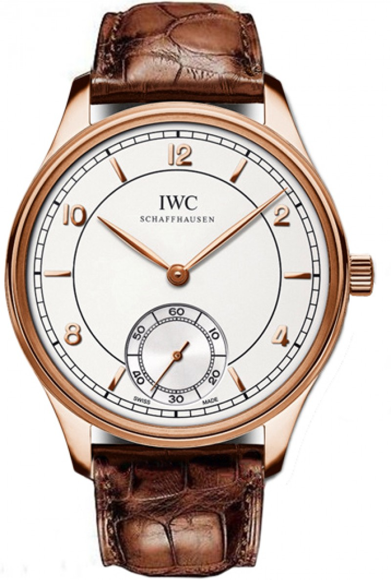 Fake IWC Vintage Portuguese Silver Dial Mens Watch IW544503