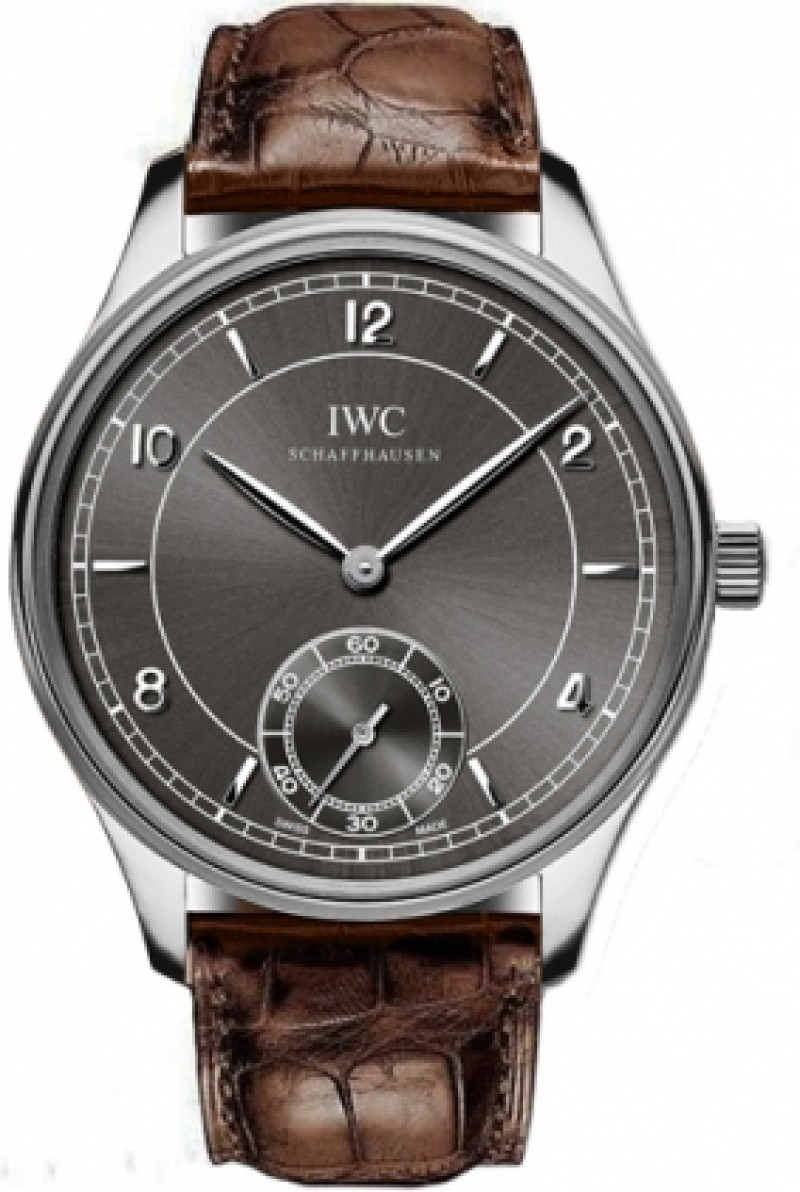 Fake IWC Portugese Vintage Grey Dial Mens Watch IW544504