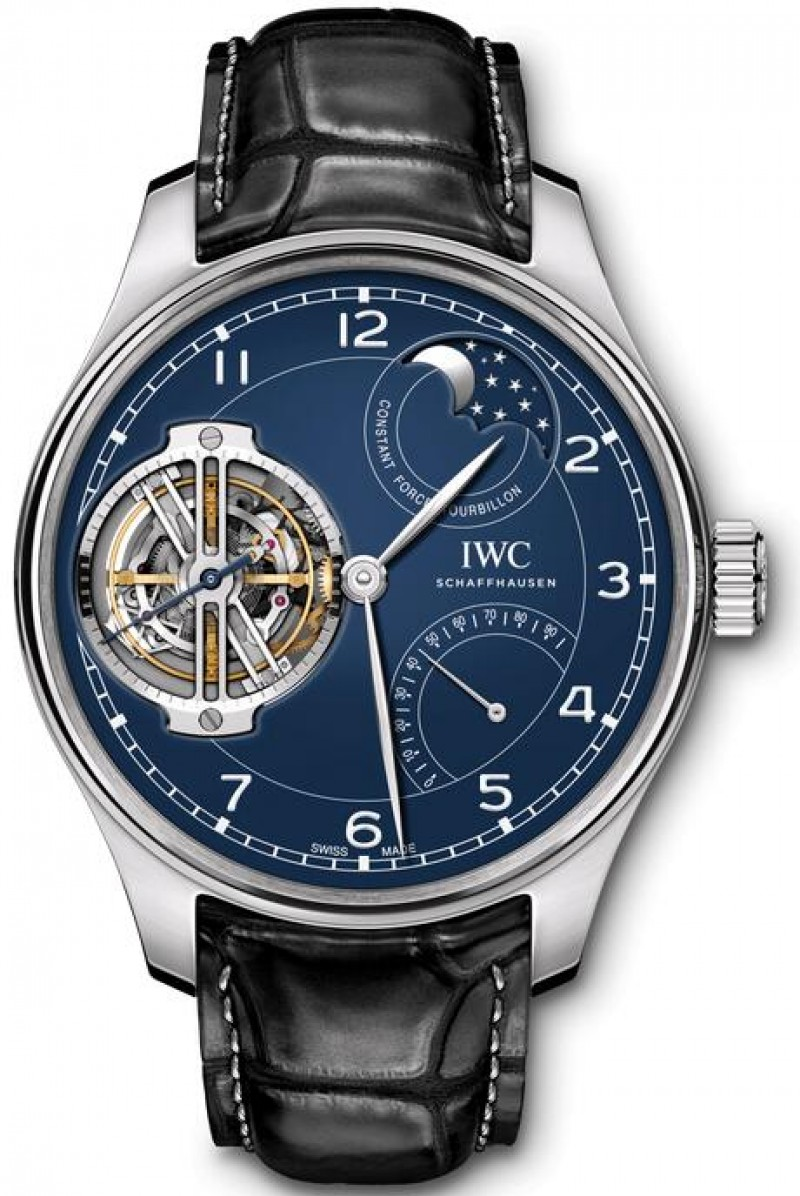 Fake IWC Portugieser Constant-Force Tourbillon Edition 150 Years IW590203
