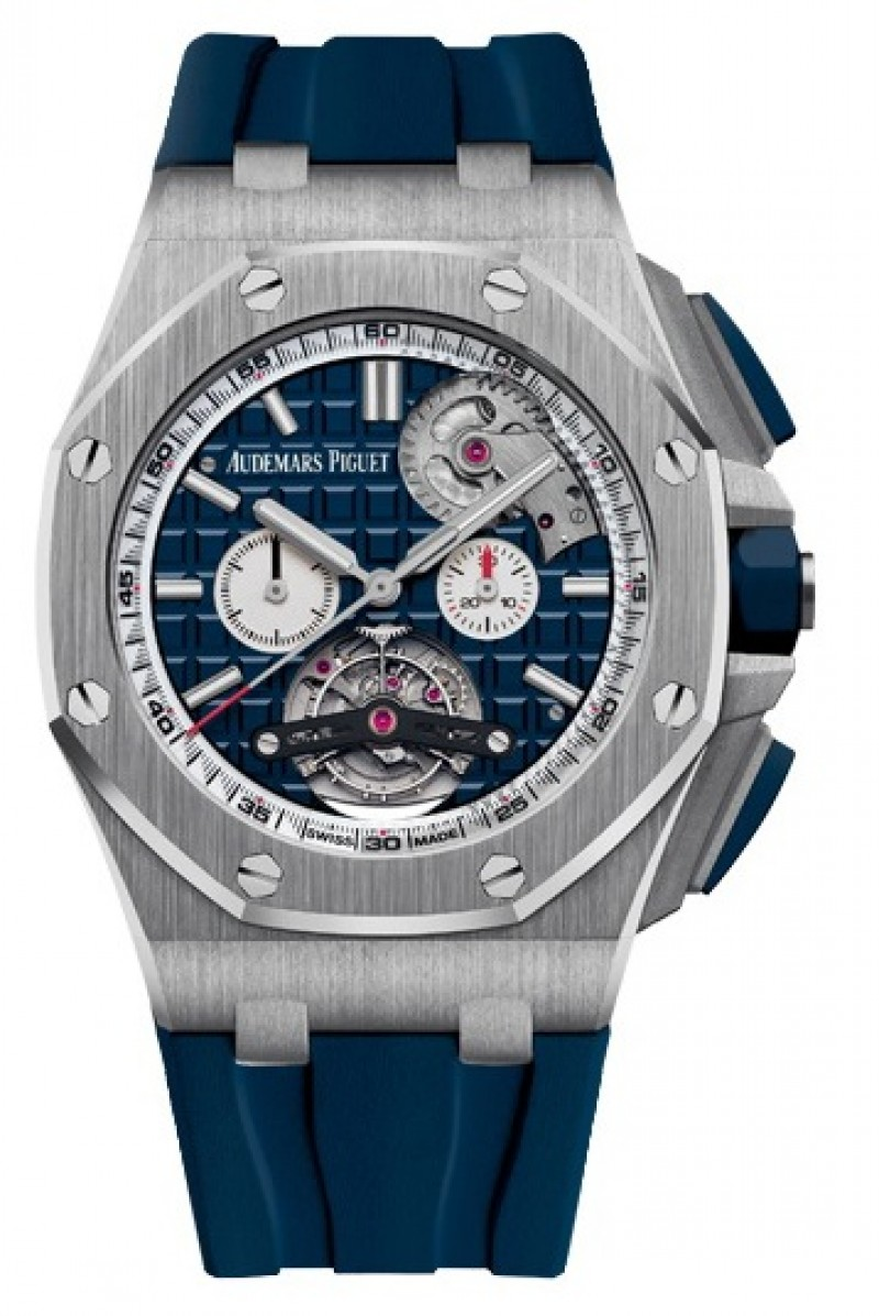 Replica Audemars Piguet Royal Oak Offshore Tourbillon Chronograph Selfwinding 26540ST.OO.A027CA.01