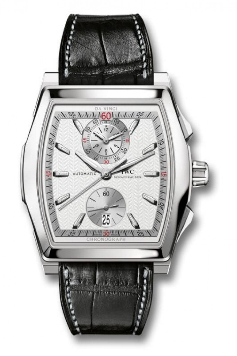 Fake IWC Da Vinci Silver Dial Mens Watch IW376416