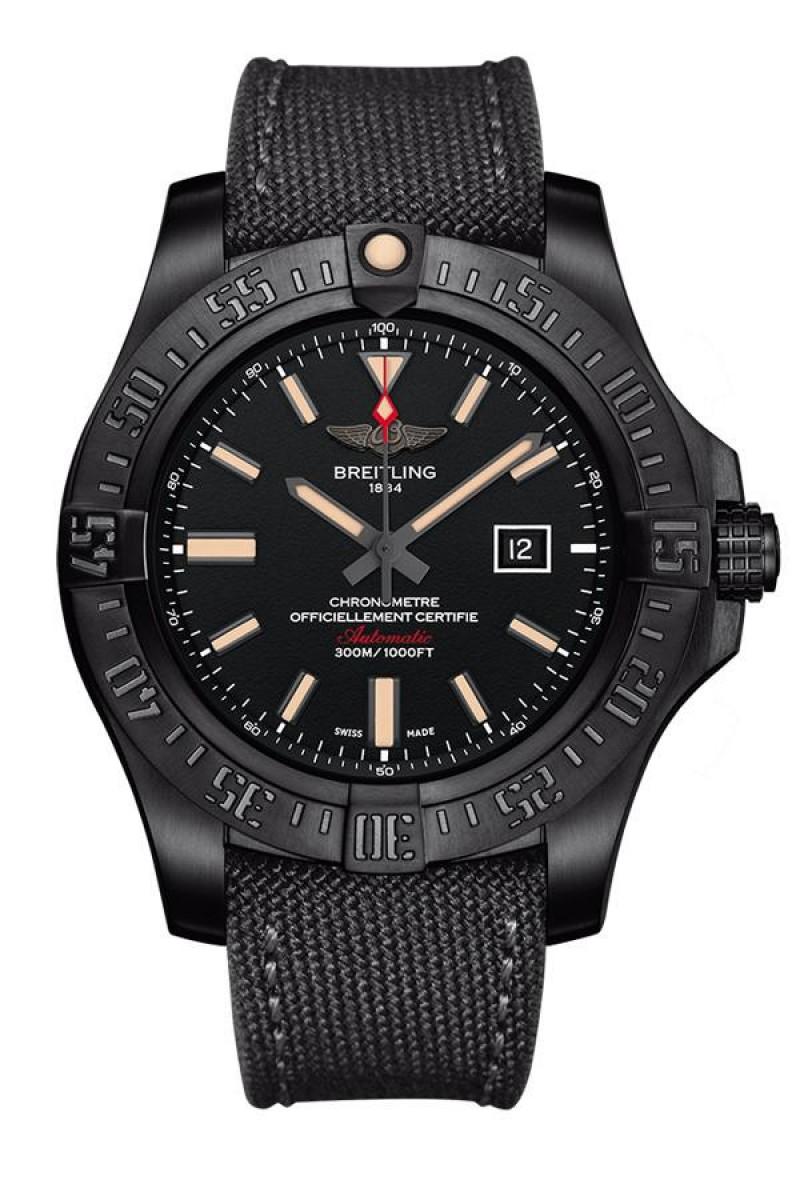 Fake Breitling Avenger Blackbird Automatic Watch V1731010|BD12|100W