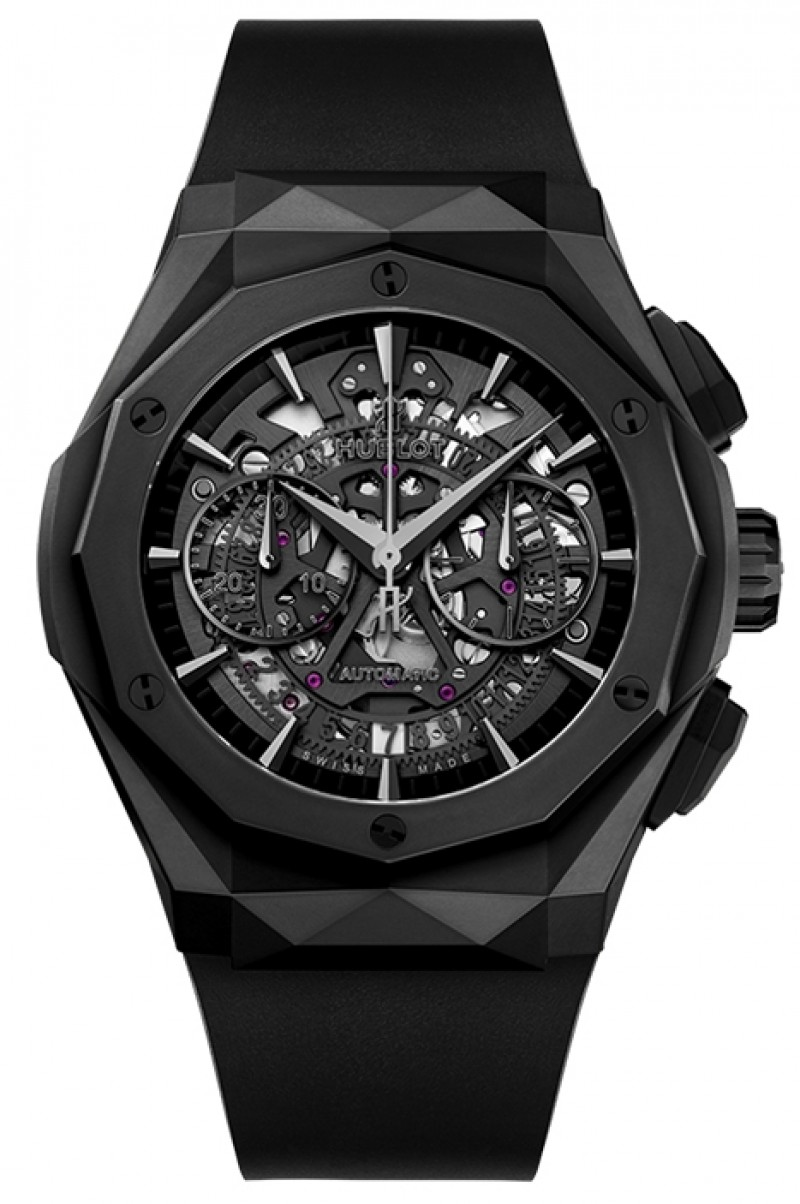 Fake Hublot Classic Fusion Aerofusion Chronograph Orlinski All Black 45mm 525.CI.0119.RX.ORL18