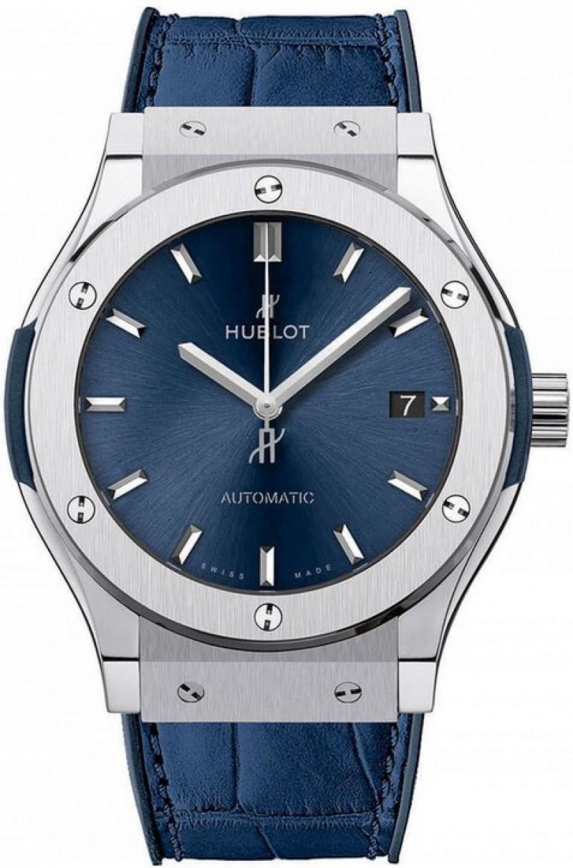 Fake Hublot Classic Fusion Automatic Titanium 45mm Watch 511.NX.7170.LR