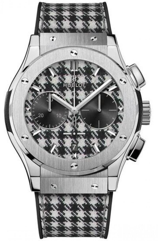 Fake Hublot Classic Fusion Chronograph Italia Independent Pieds-De-Poule 521.NX.2702.NR.ITI17