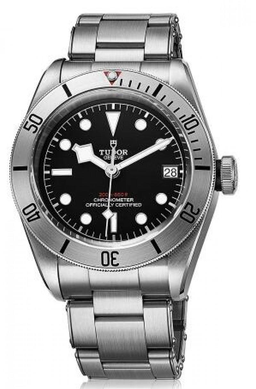 Fake Tudor Heritage Black Bay Steel Diver 41mm Watch 79730-0001