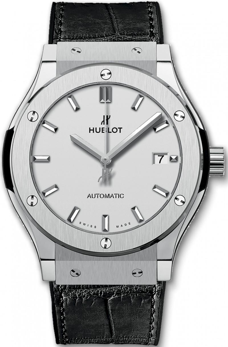 Fake Hublot Classic Fusion Automatic Titanium 45mm Mens Watch 511.NX.2611.LR