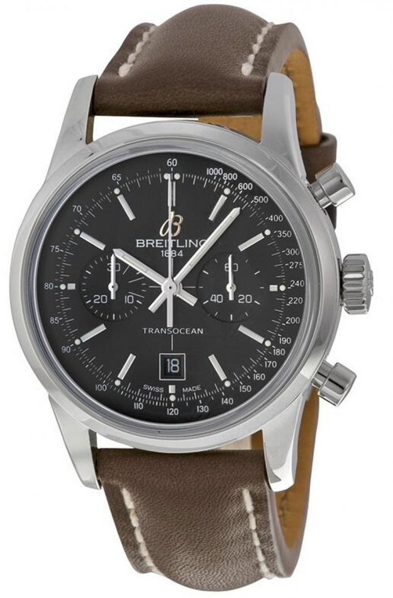 Replica Breitling Transocean Chronograph Unisex Watch A4131012-BC06BRLT