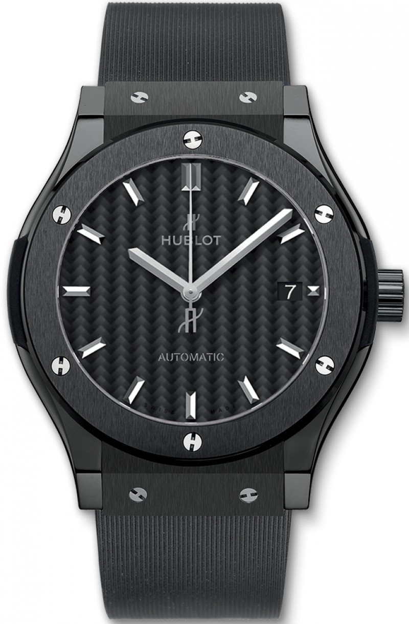 Fake Hublot Classic Fusion 45mm Black Magic 511.CM.1771.RX