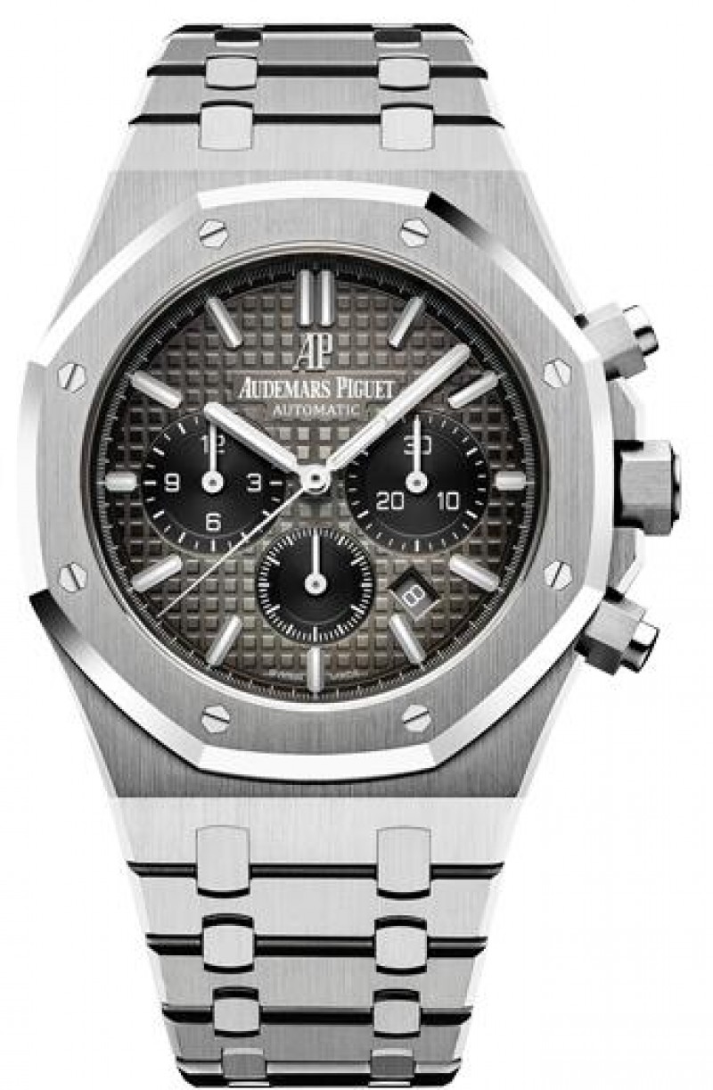 Fake Audemars Piguet Royal Oak Chronograph 41 Platinum 26332PT.OO.1220PT.01