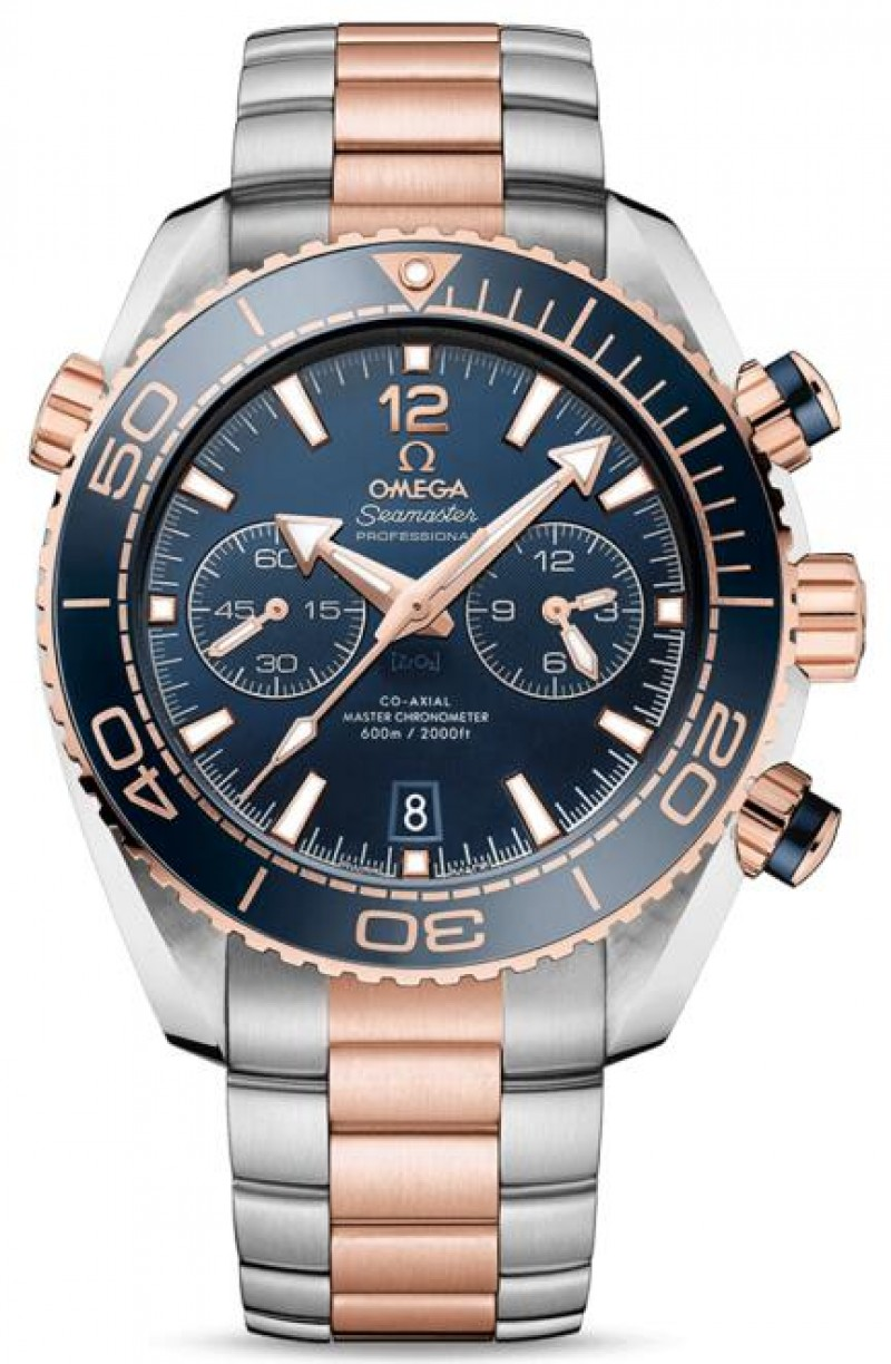 Fake Omega Seamaster Planet Ocean 600M Chronograph Automatic 45.5mm Mens Watch 215.20.46.51.03.001