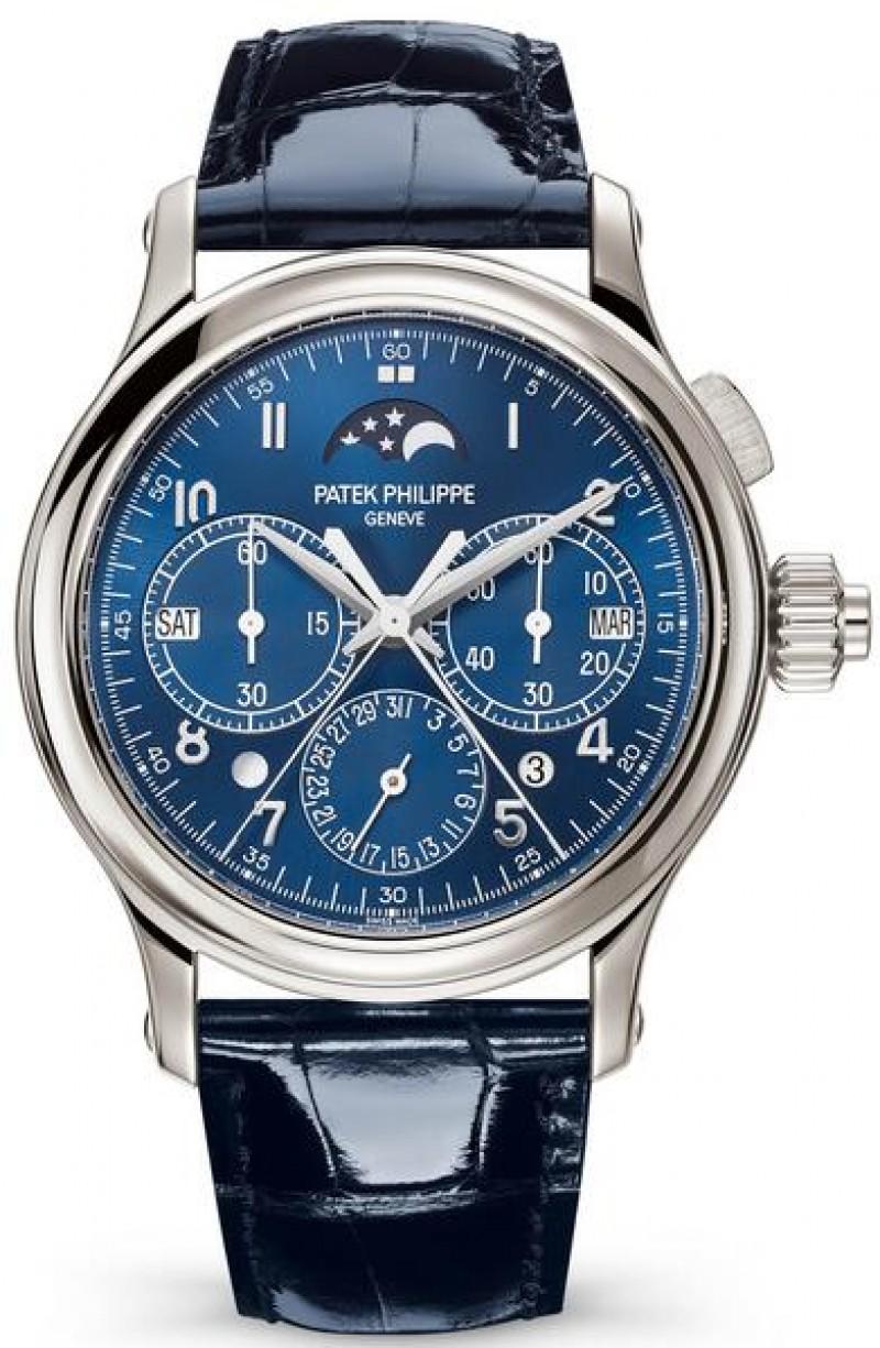 Replica Patek Philippe Grand Complications Perpetual Calendar Split-Seconds Chronograph 5372P-001