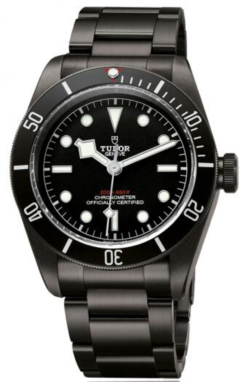 Replica Tudor Heritage Black Bay Dark Bracelet Watch M79230DK-0001