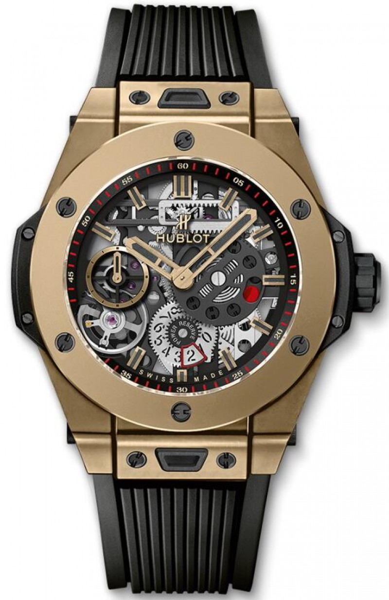 Fake Hublot Big Bang MECA-10 Full Magic Gold 45mm 414.MX.1138.RX