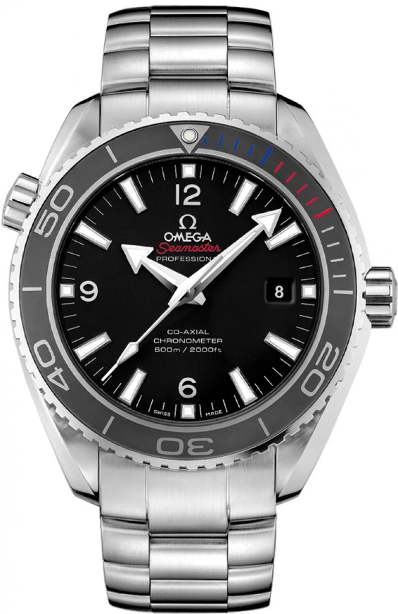 Fake Omega Seamaster Planet Ocean Olympic Sochi 2014 Mens Watch 522.30.46.21.01.001