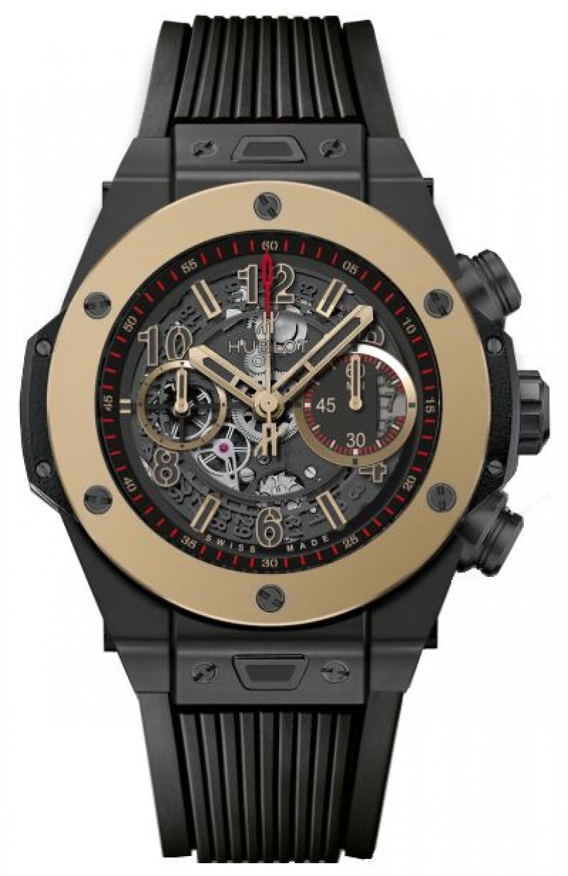 Fake Hublot Big Bang Unico Ceramic Magic Gold Watch 411.CM.1138.RX