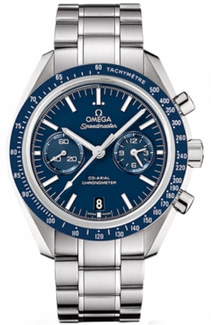 Fake Omega Speedmaster Moonwatch Co-Axial Chronograph Titanium Watch 311.90.44.51.03.001